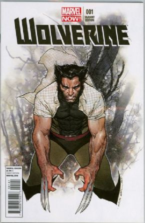 Wolverine #1 Olivier Coipel Retail Variant 1:25 (2013) Marvel comic book